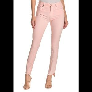 Mother Womens Jeans The Looker Ankle Step Fray